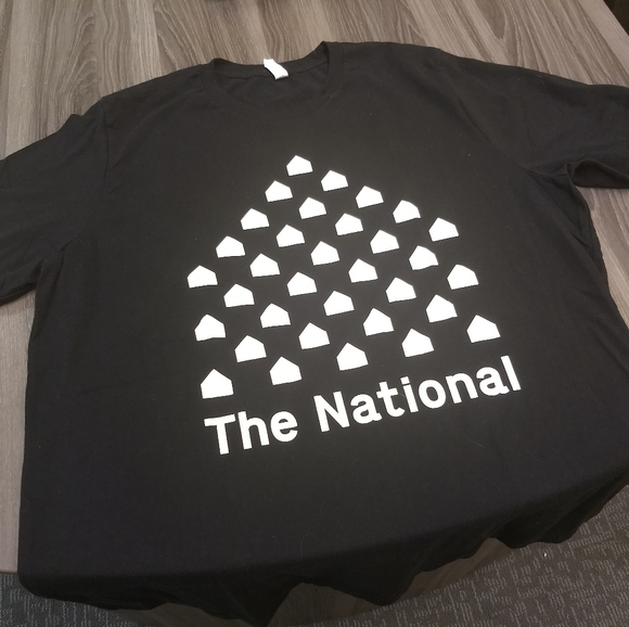 The National Other - THE NATIONAL - 2017 TOUR T-SHIRT 👕 Rock Band Tee